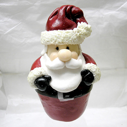 *SANTA* standing Christmas ornament