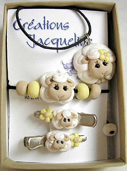 *SHEEPS* kids jewelry kit