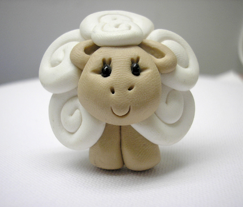 *SHEEP* decorative closet knob/drawer