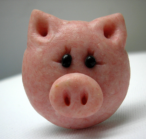 *PIG* decorative closet knob/drawer
